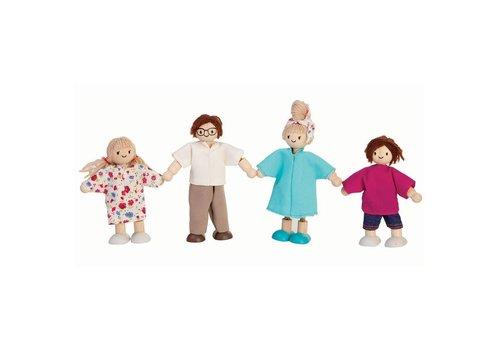PlanToys Moderne poppenfamilie