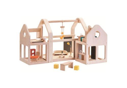PlanToys Slide N Go Dollhouse