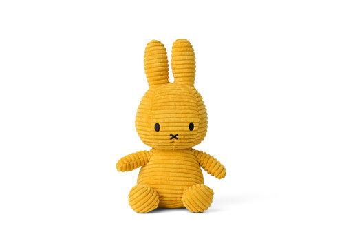Nijntje Miffy Sitting Corduroy Yellow - 23cm