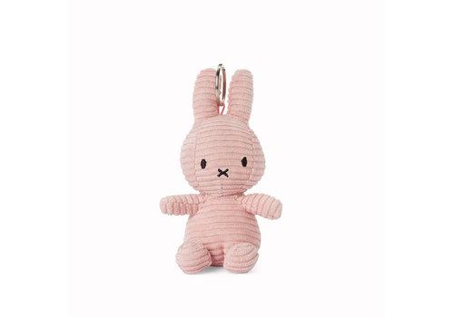 Nijntje Miffy Keychain Corduroy Pink - 10cm