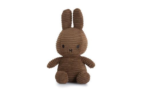 Nijntje Miffy Sitting Corduroy Brown - 23cm