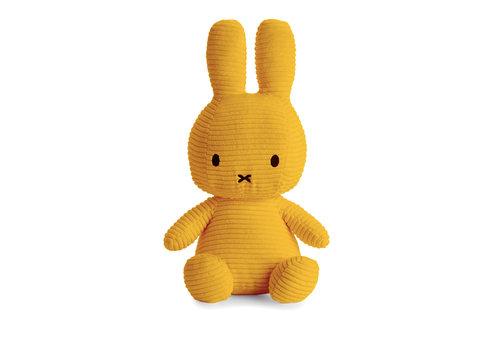 Nijntje Miffy Sitting Corduroy Yellow - 33cm