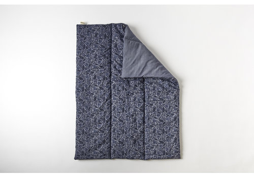 mundo melocotón Quilted blanket / play pen mat 75x95  jungle jeans