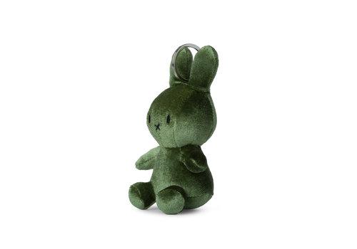 Nijntje Miffy Keychain Velvet Moss Green - 10cm