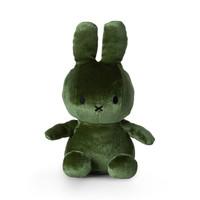 Miffy Sitting Velvet Moss Green - 23cm