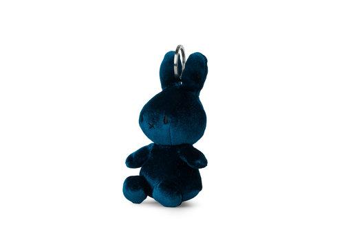 Nijntje Miffy Keychain Velvet Dark Teal - 10cm