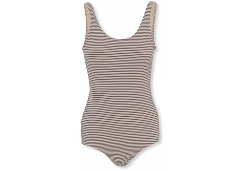 Konges Sløjd Soleil mommy swimsuit striped bordeaux