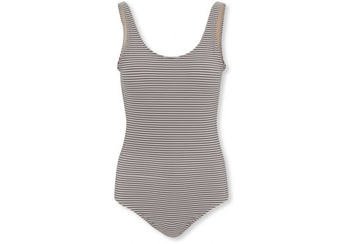 Konges Sløjd Soleil mommy swimsuit striped navy