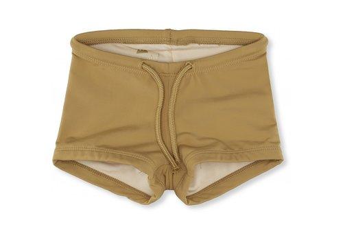 Konges Sløjd Soleil uni swim shorts mustard