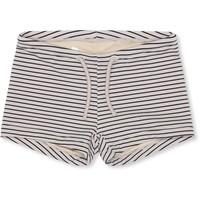 Soleil uni swim shorts striped navy