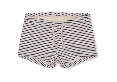 Konges Sløjd Soleil uni swim shorts striped navy