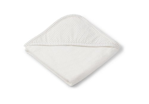 Liewood Sheila hooded towel Little dot creme de la creme