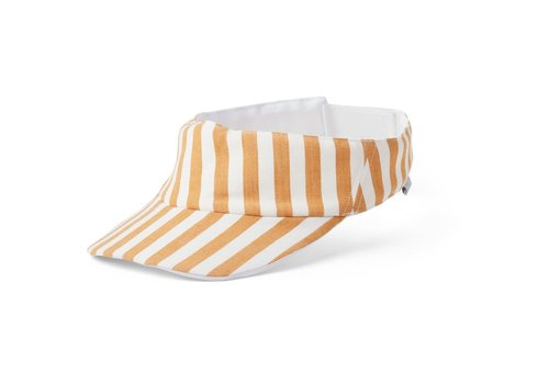 Liewood Graham visor Stripe mustard