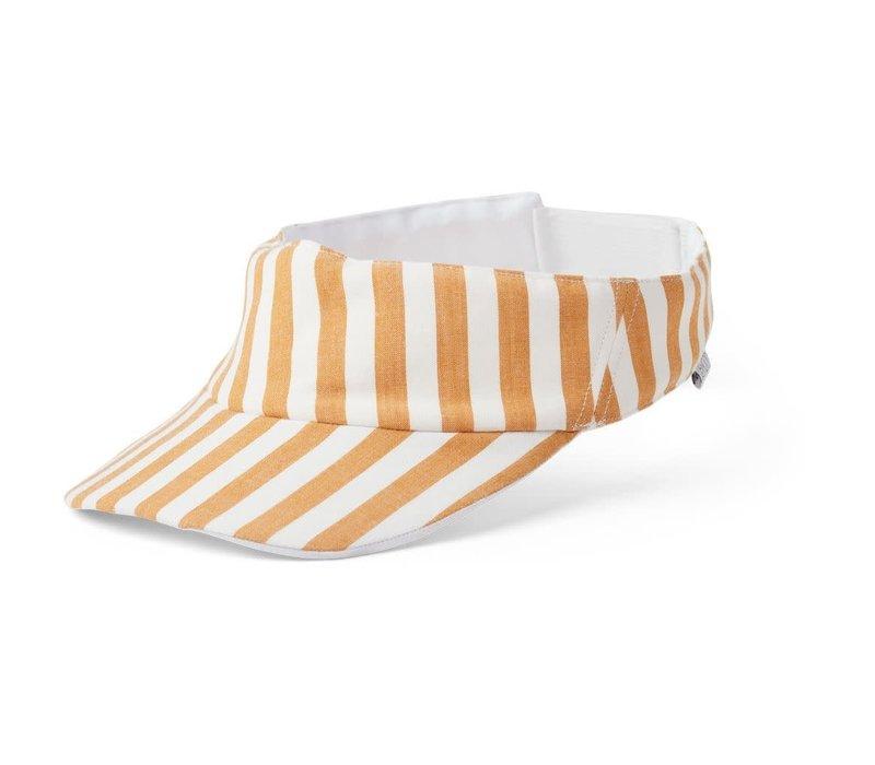 Graham visor Stripe mustard