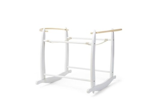 Childhome Rocking stand for Moses Basket White