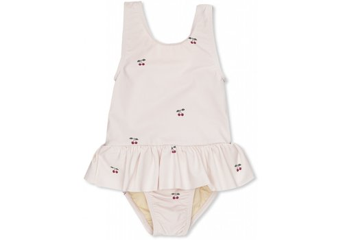 Konges Sløjd Soleil girls swimsuit cherry