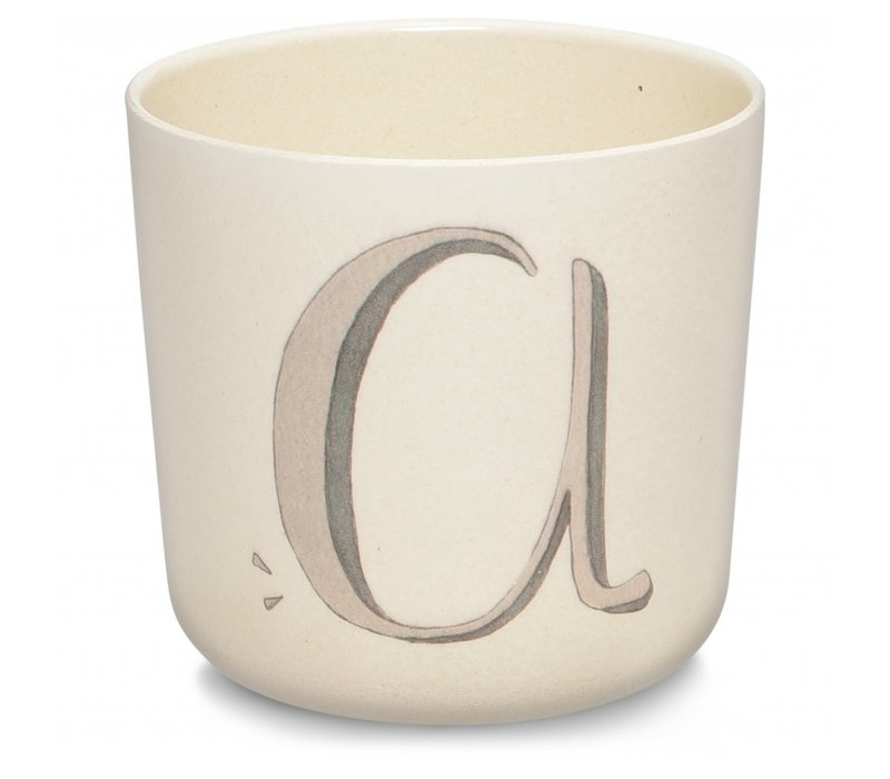 Alphabet cup