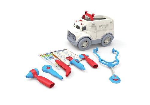 Green Toys Ziekenwagen met doktersset