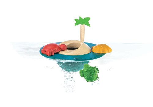 PlanToys Drijvend eiland