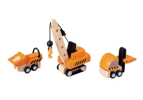 PlanToys Constructie Voertuigen