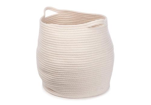 KidsDepot Kwando basket 38x34cm White