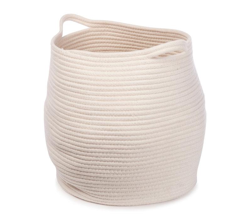Kwando basket 38x34cm White