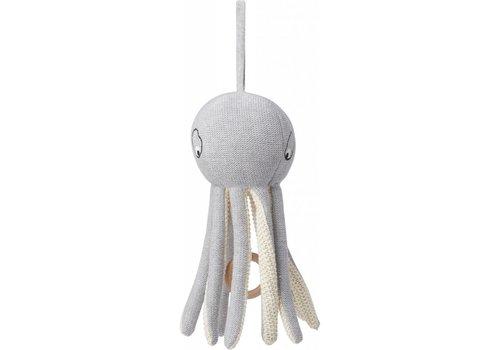 Liewood Muziekmobiel Angela Octopus grey melange