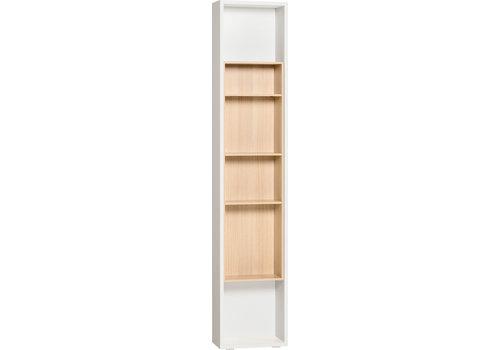 Vox 4 YOU Boekenkast voor zijkant kleerkast 2-deurs white/oak