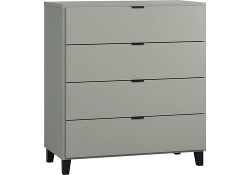 Vox SIMPLE Commode grey/black