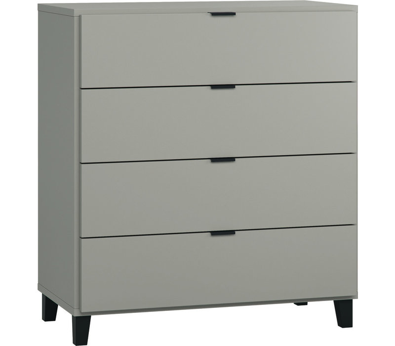 SIMPLE Commode grey/black