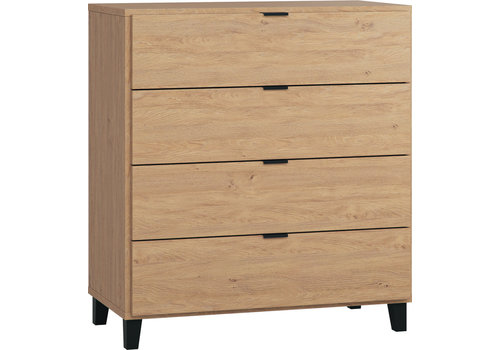 Vox SIMPLE Commode oak/black