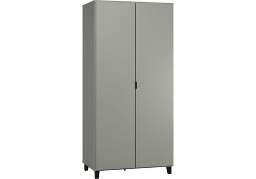 Vox SIMPLE 2-door wardrobe grey