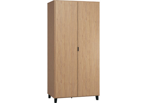 Vox SIMPLE Kleerkast 2-deurs oak/black