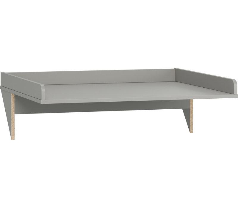 SIMPLE Luiertafel voor commode grey
