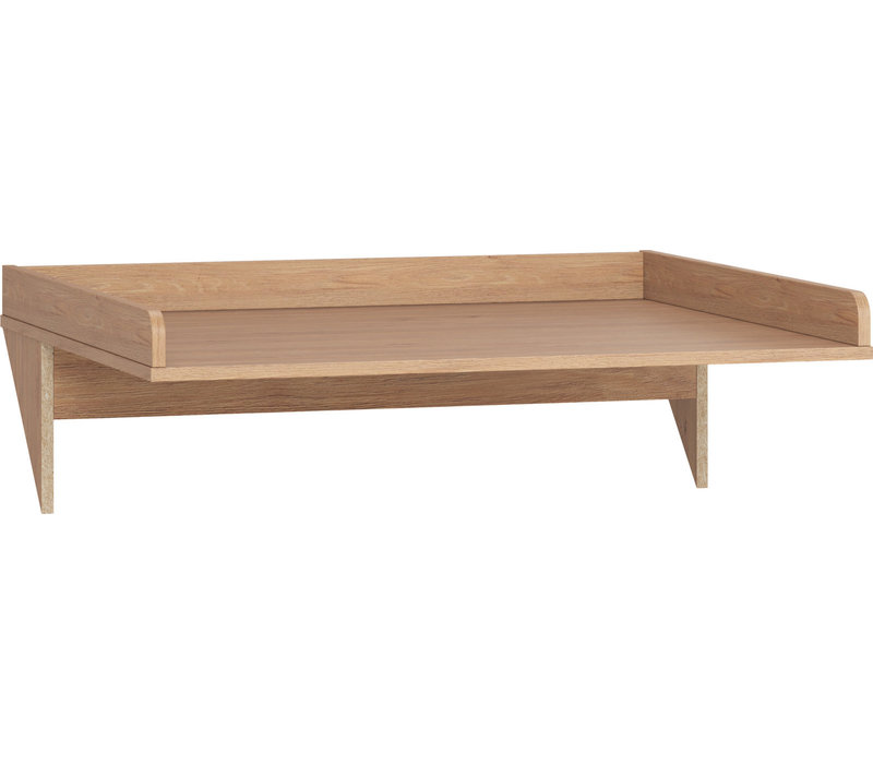 SIMPLE Changing table top oak