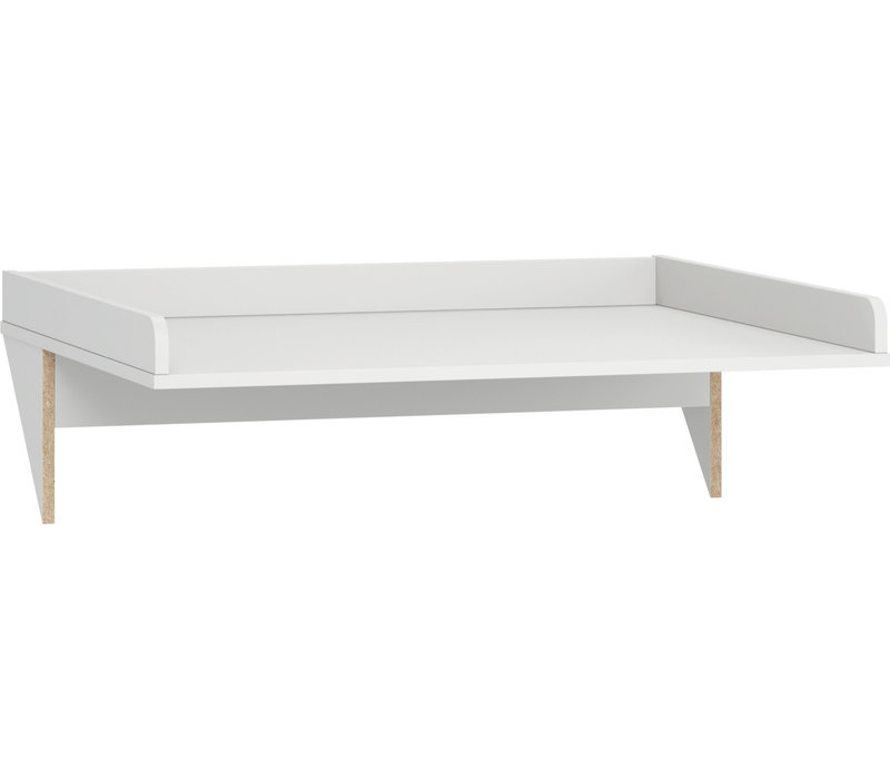 SIMPLE Changing table top white