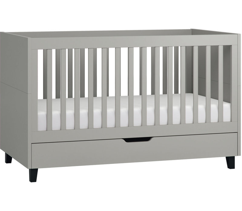SIMPLE Cot bed 70x140 grey