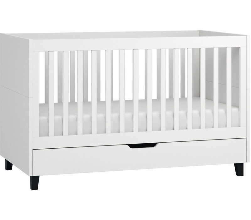 SIMPLE Cot bed 70x140 white