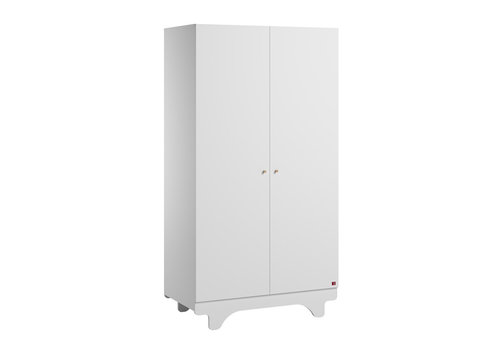 Vox PLAYWOOD 2-door wardrobe white