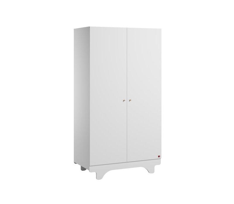 PLAYWOOD Kleerkast 2-deurs white