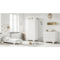 PLAYWOOD 2-door wardrobe white