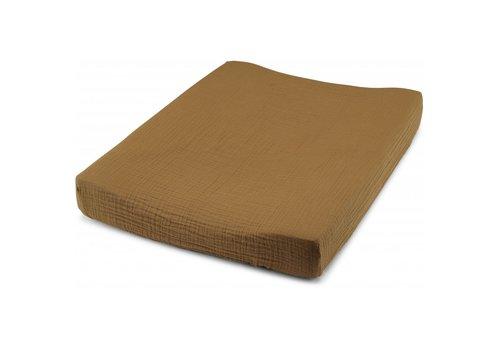 Konges Sløjd Fitted sheet for changing cushion dark honey