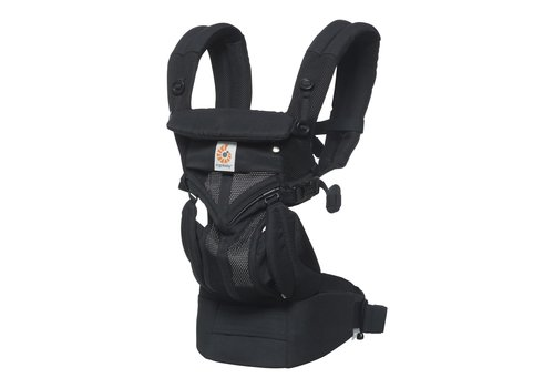 Ergobaby Copy of Babydraagzak 4P 360 OMNI Cool Air Mesh Raven