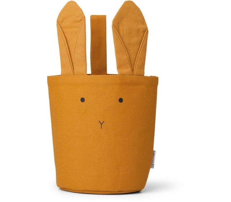Textielmandje Ib Rabbit mustard