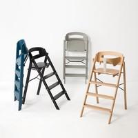Klapp high chair beech gray