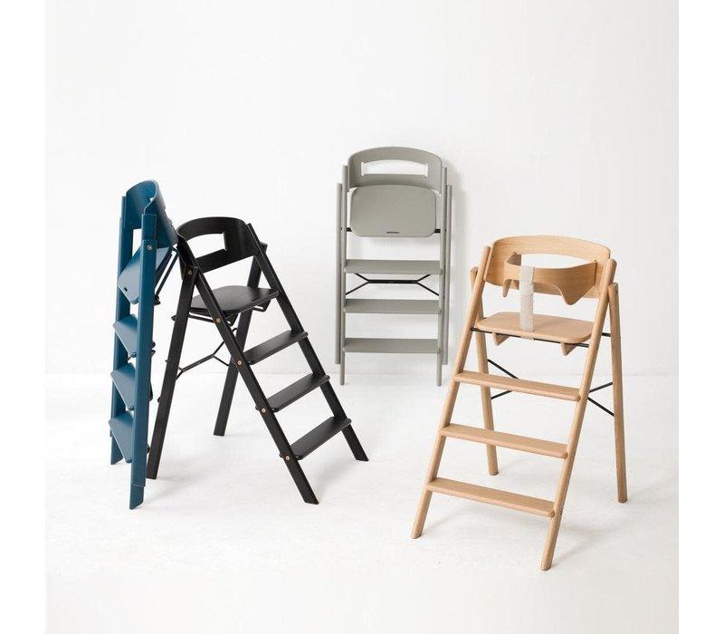 Klapp high chair beech black