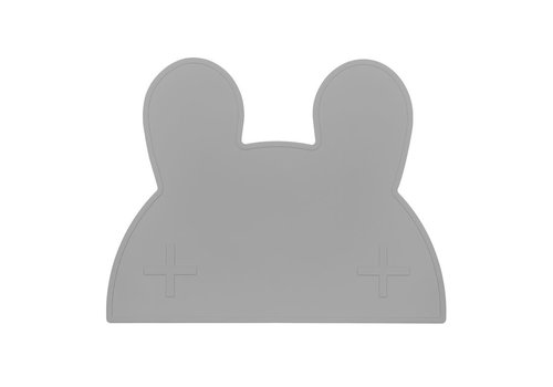 We Might Be Tiny Placemat Bunny grey