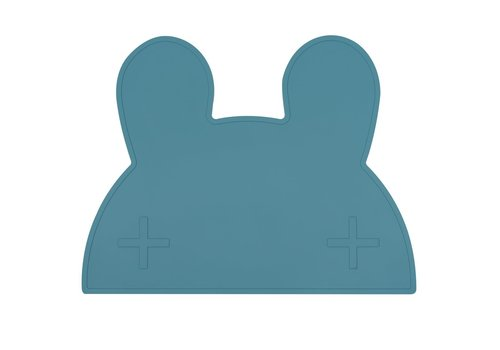 We Might Be Tiny Placemat Bunny blue dusk