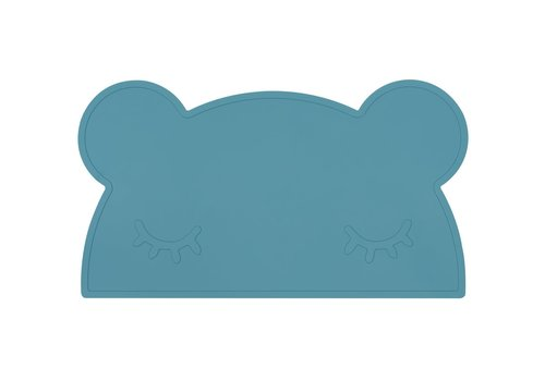We Might Be Tiny Placemat Bear blue dusk