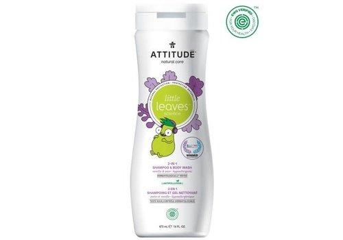 Attitude Little Leaves 2-in-1 Shampoo en body wash vanille peer 475ml